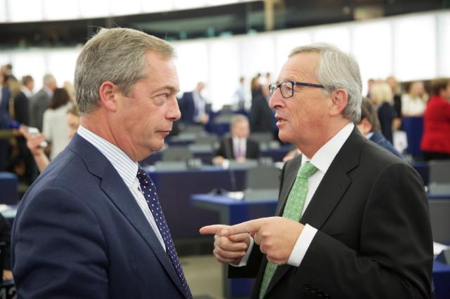Vote of the Juncker Commission in the plenary session of the EP