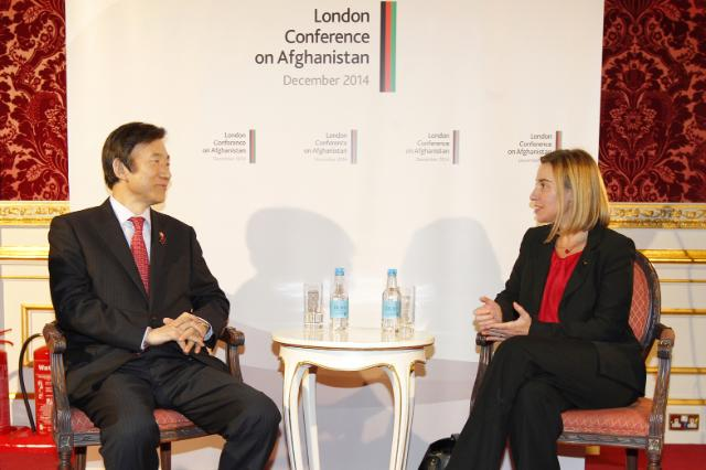Meeting between Yun Byung-se, South Korean Minister for Foreign Affairs, and Federica Mogherini, Vice-President of the EC