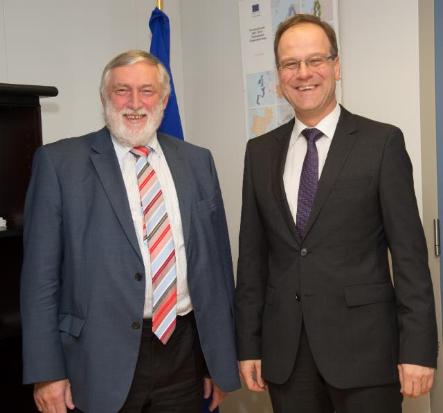 Visit of Franz Fischler, President of the European Forum Alpbach, to the EC