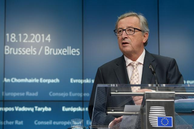 "Illustration of ""Brussels European Council, 18/12/14: joint press conference"""