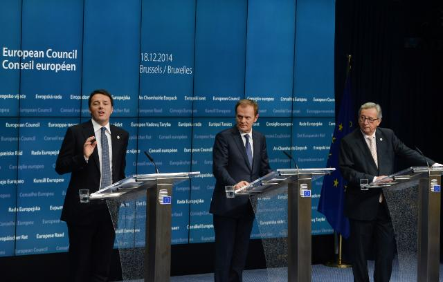 Conseil européen de Bruxelles, 18/12/14: conférence de presse conjointe