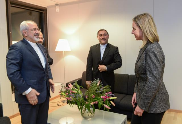Visit of Mohammed Javad Zarif, Iranian Minister for Foreign Affairs, to the EC