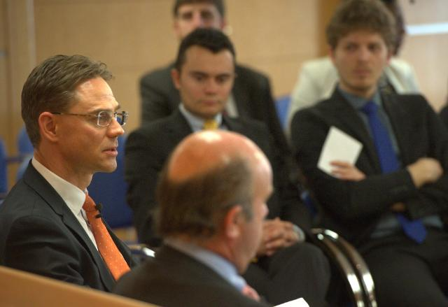 Visit of Jyrki Katainen, Vice-President of the EC, to Spain