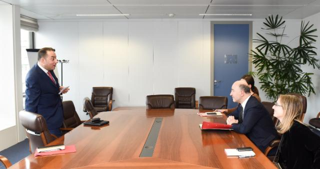 Visit of Gianni Pittella, Member of the EP and Chair of the S&D Group of the EP, to the EC