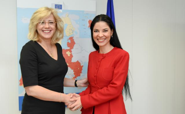 Visit of Ana Birchall, Member of the Romanian Parliament and Romanian High Representative for European Affairs, to the EC