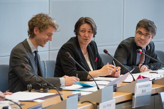 Visit of Members from the Committee on Transport and Digital Infrastructure of the German Bundestag to the EC