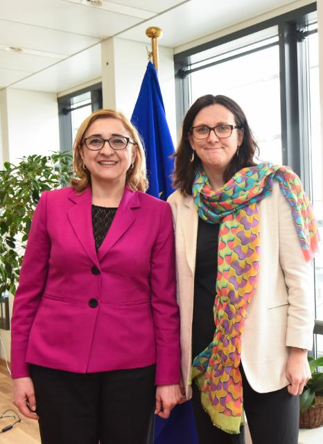 Visit of Tamar Beruchashvili, Georgian Minister for Foreign Affairs, to the EC