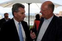 Participation of Günther Oettinger, Member of the EC, at the 67th Cannes International Film Festival