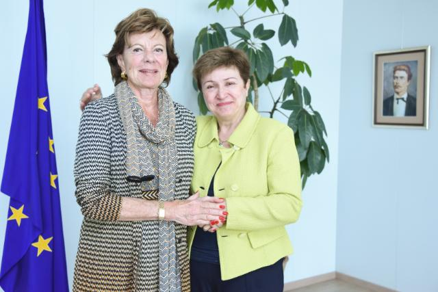 Visit of Neelie Kroes, Ambassador of the Dutch Government for start-ups in the Netherlands, to the EC