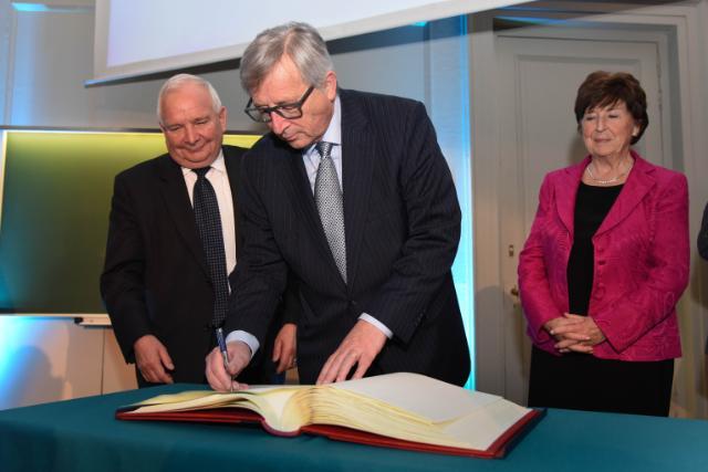 Conférence de Jean-Claude Juncker, président de la CE, à la KU Leuven