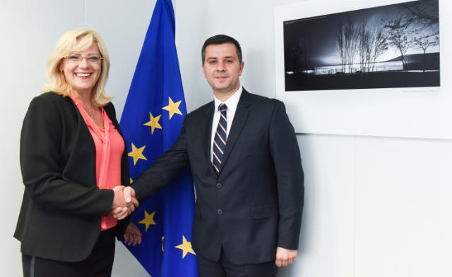 Visit of Marius Nica, Romanian Minister for EU Funds, to the EC