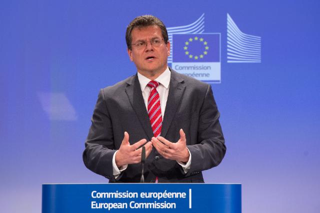 Press conference by Maroš Šefčovič, Vice-President of the EC, on the outcome of EU/Russia/Ukraine trilateral gas talks in Vienna