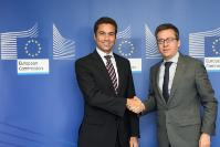 Visit of Fausto Brito e Abreu, Regional Secretary for the Sea, Science and Technology of the Regional Government of the Azores, to the EC
