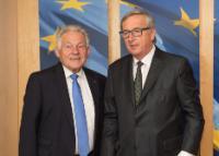 Visite de Josef Pühringer, gouverneur du Land de Haute Autriche, à la CE