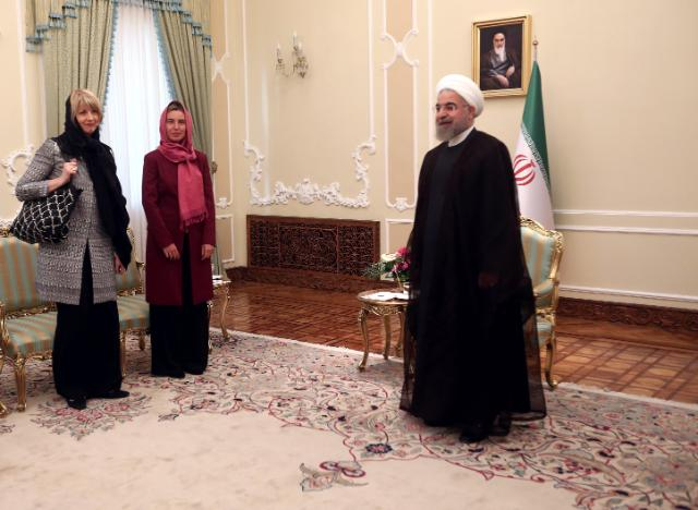 "Illustration of ""Visit of Federica Mogherini to Iran"""