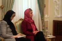 Visite de Federica Mogherini en Iran