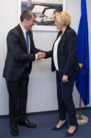 Visite de Fernando Clavijo, président du gouvernement régional des Canaries, à la CE