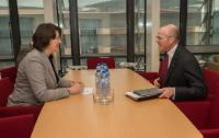 Visit of Mario Greco, CEO of the insurance company Generali, to the EC