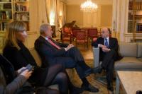 Visit by Dimitris Avramopoulos, Member of the EC, to Paris, following the attacks that hit the French capital