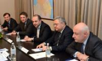 Visite de Johannes Hahn et Vytenis Andriukaitis, membres de la CE, en Géorgie