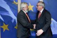 Visit of Georges Dassis, President of the European Economic and Social Committee, to the EC