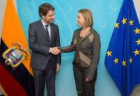 Visit of Guillaume Long, Ecuadorian Minister for Foreign Affairs and Human Mobility, and Diego Esteban Aulestia Valencia, Ecuadorian Minister for External Trade, to the EC