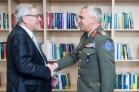 Visite de Michail Kostarakos, président du CMUE, à la CE