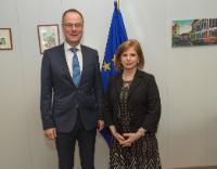 Visit of Hande Özsan Bozatli, President of the Assembly of European Regions (AER), to the EC