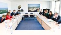 Visite de Chrystia Freeland, ministre canadienne du Commerce international, à la CE