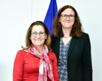 Visit of Chrystia Freeland, Canadian Minister for International Trade, to the EC