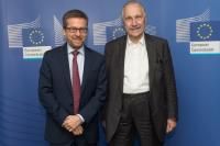 Visit of Carlo Rizzuto, Director General of ELI Delivery Consortium International Association, to the EC