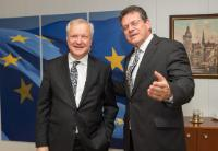 Visit of Olli Rehn, Finnish Minister for Economic Affairs, to the EC