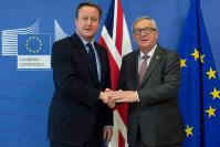 Visit of David Cameron, British Prime Minister, to the EC