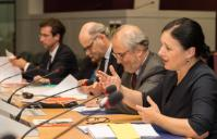 Participation of Vĕra Jourová, Member of the EC, at the meeting on the quality and independence of Justice systems