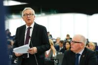 Participation of Jean-Claude Juncker, President of the EC,  Frans Timmermans, First Vice-President of the EC, and Dimitris Avramopoulos, Member of the EC, in the EP plenary session