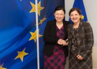 Visit of Raluca Prună, Romanian Minister for Justice, to the EC