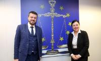 Visit of Urmas Reinsalu, Estonian Minister for Justice, to the EC