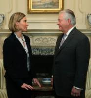 Visit of Federica Mogherini, Vice-President of the EC to the United States
