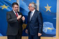Visit of Sigmar Gabriel, German Federal Vice-Chancellor and German Federal Minister for Foreign Affairs, to the EC