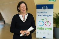 Participation of Violeta Bulc, Member of the EC, in the launch event of the 'VeloMai' initiative