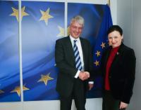 Visit of Andrew Langdon QC, Chairman of the Bar of England and Wales, to the EC