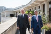 Visite de Dimitris Avramopoulos, membre de la CE, en Allemagne