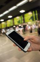 The usage of Wi-Fi and roaming in train and metro stations, and in public spaces