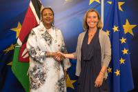 Visit of Amina Mohamed, Kenyan Cabinet Secretary for Foreign Affairs and International Trade, to the EC