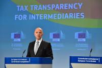 Press conference by Pierre Moscovici, Member of the EC, on Tax Intermediaries proposal (Base Erosion and Profit Shifting (BEPS))