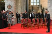 Jean-Claude Juncker, President of the EC, attends the Te Deum on the occasion of the Belgian national day in the Brussels Cathedral of St. Michael and St. Gudula