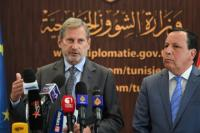 Visit by Johannes Hahn, Member of the EC, to Tunisia