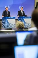 Press conference by Valdis Dombrovskis, Vice President of the EC, on the conclusions of the weekly meeting of the Juncker Commission