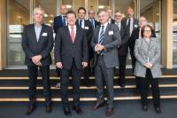 Visite de représentants de la Table ronde des industriels européens de l'énergie à la CE
