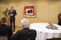 Remise des médailles de 20 ans de fonction publique européenne à la DG EAC et JRC